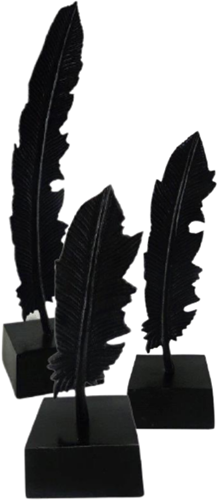 Veer op Standaard S/3 -Black Antique