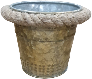 Small Bucket with Rope